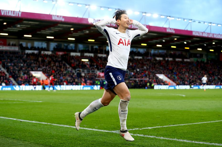 AFC Bournemouth 1-4 Tottenham Hotspur