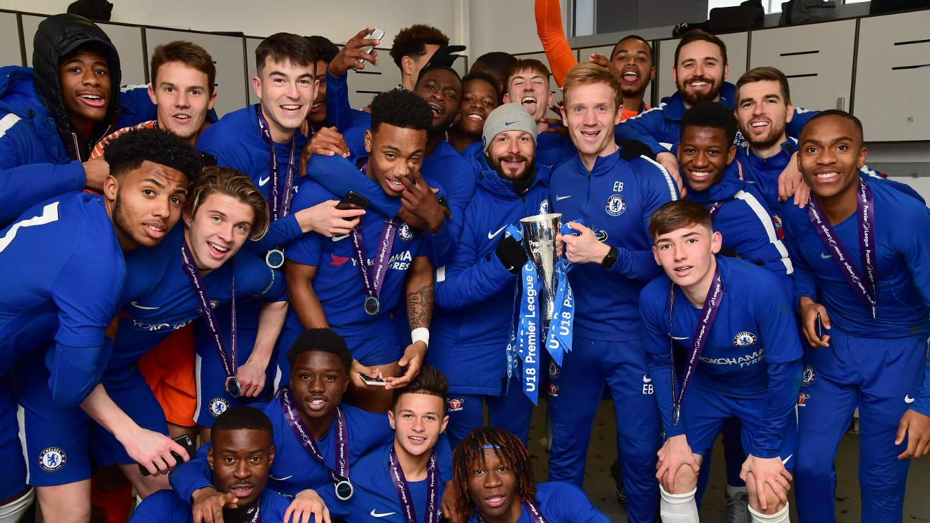 Chelsea win Under-18 Premier League Cup final