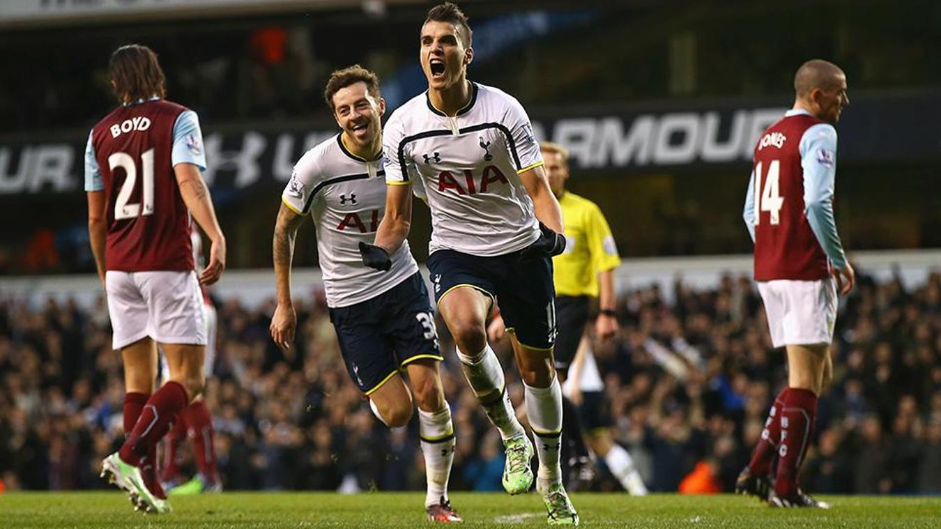 Spurs 2-1 Burnley, 2014/15