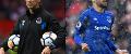 Duncan Ferguson and Cenk Tosun, Everton
