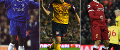 Jimmy Floyd Hasselbaink, Andriy Arshavin and Mohamed Salah