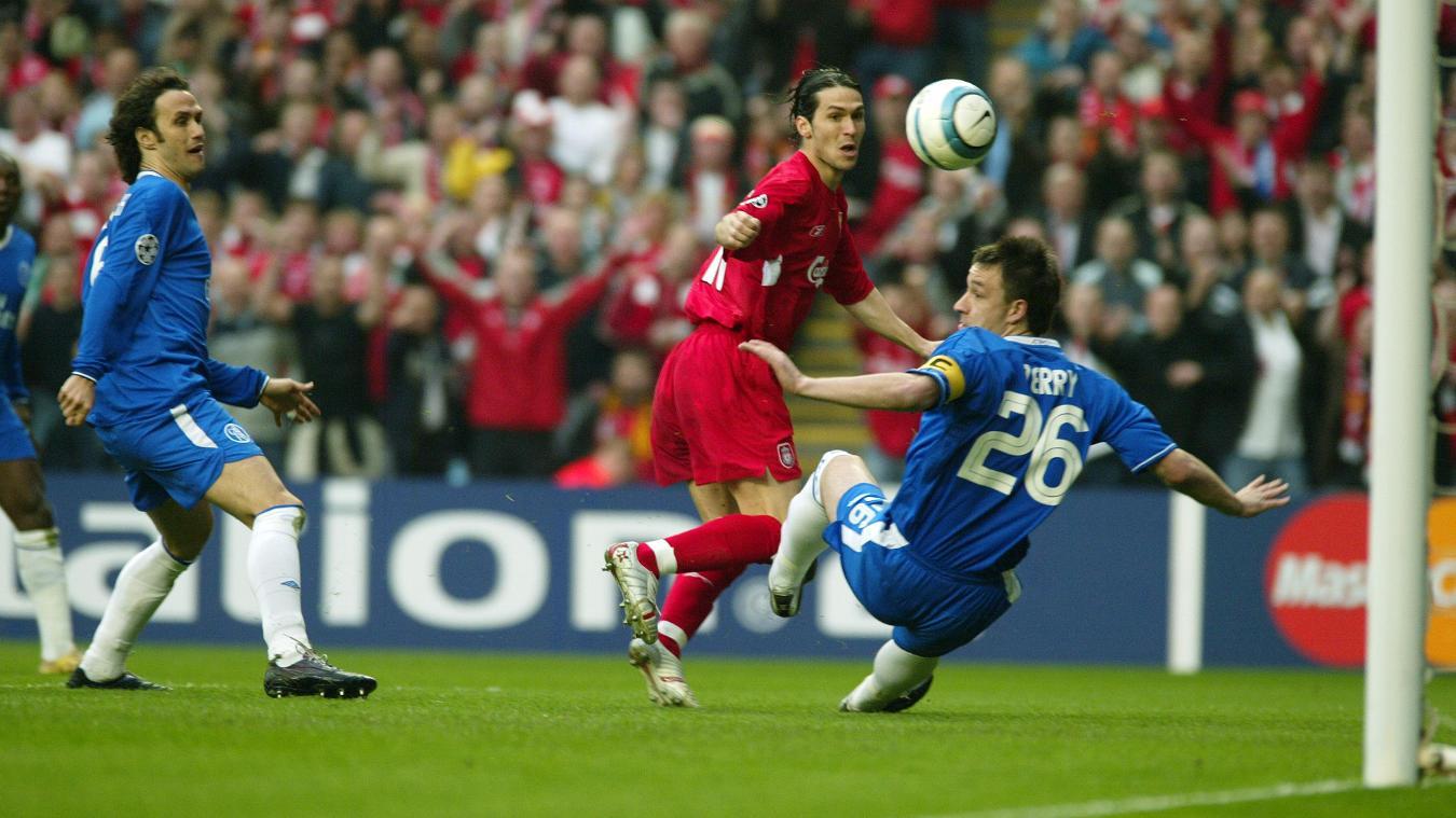 Luis Garcia goal v Chelsea