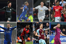Nominees for March's Carling Goal of the Month