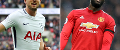 Harry Kane-Romelu Lukaku composite