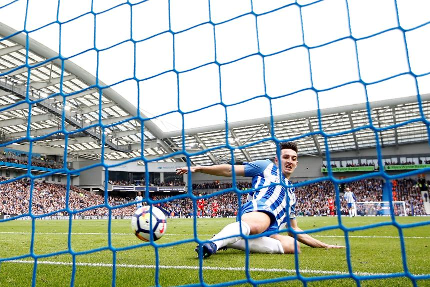 Brighton & Hove Albion 1-1 Huddersfield Town