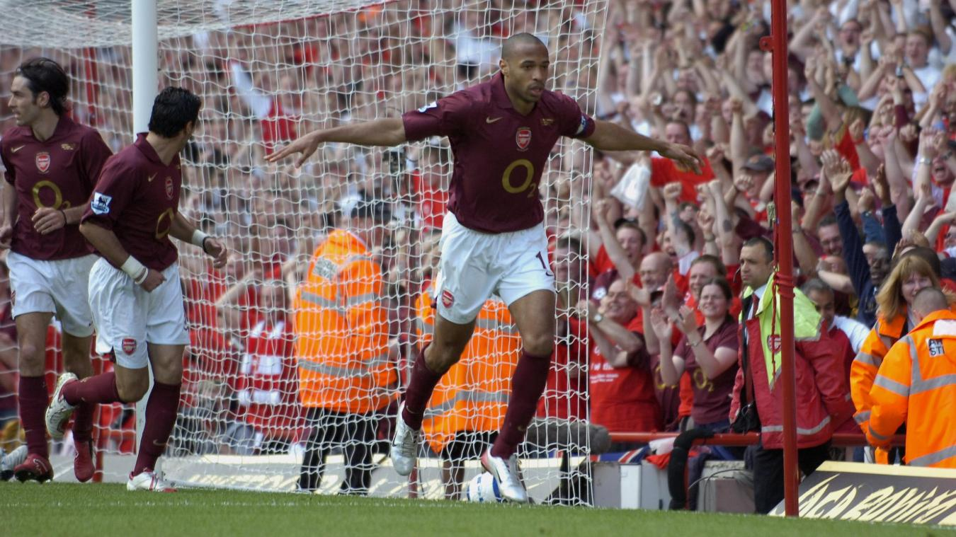 Thierry Henry, Arsenal celebration in 2005/06