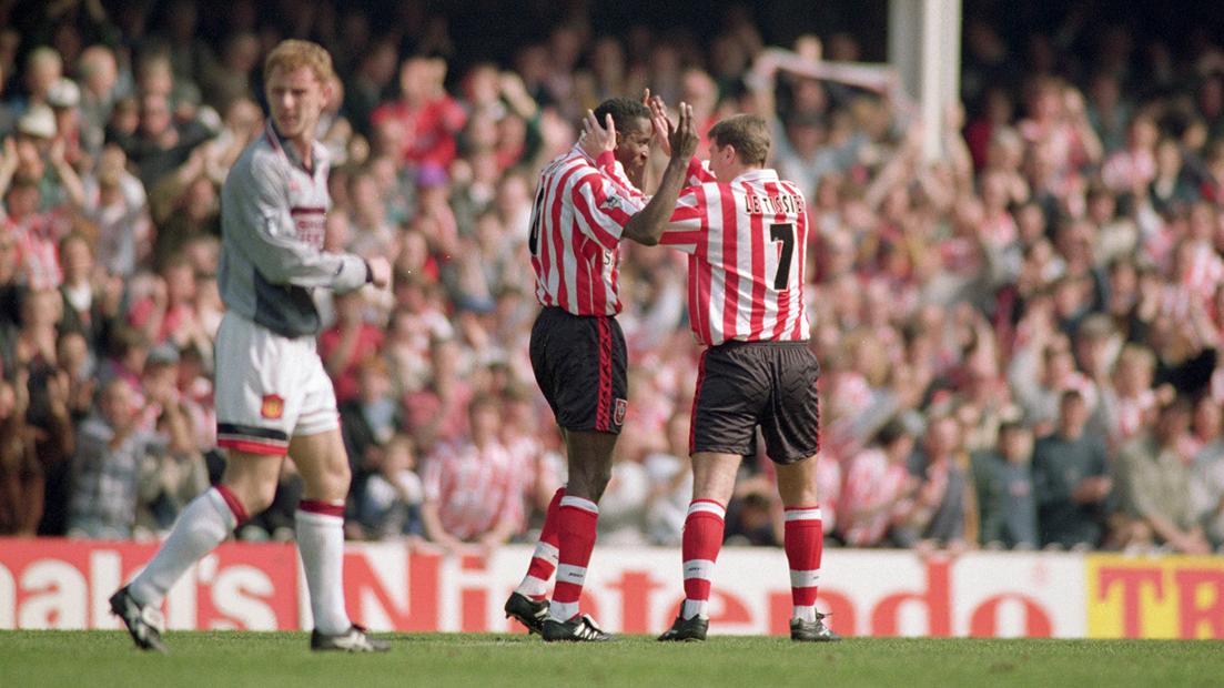 Southampton 3-1 Man Utd, 1995/96