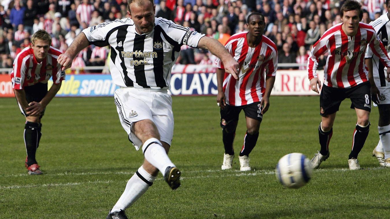 Alan Shearer, Newcastle goal in 2005/06