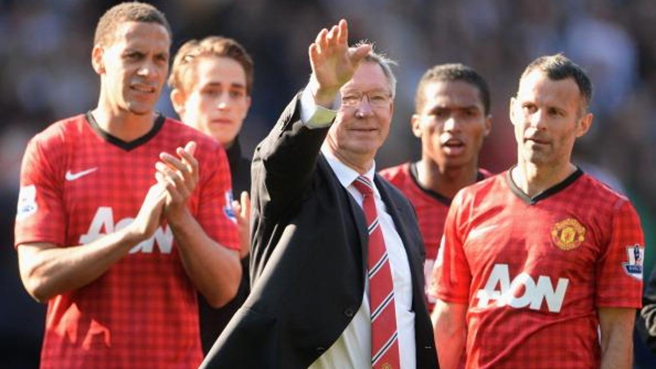 Sir Alex Ferguson, Manchester United in 2012/13