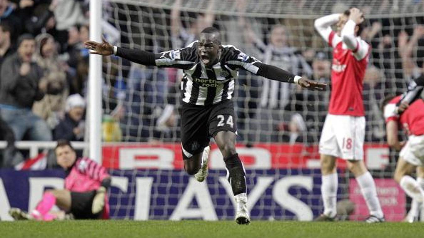 Cheick Tiote, Newcastle celebration in 2010/11