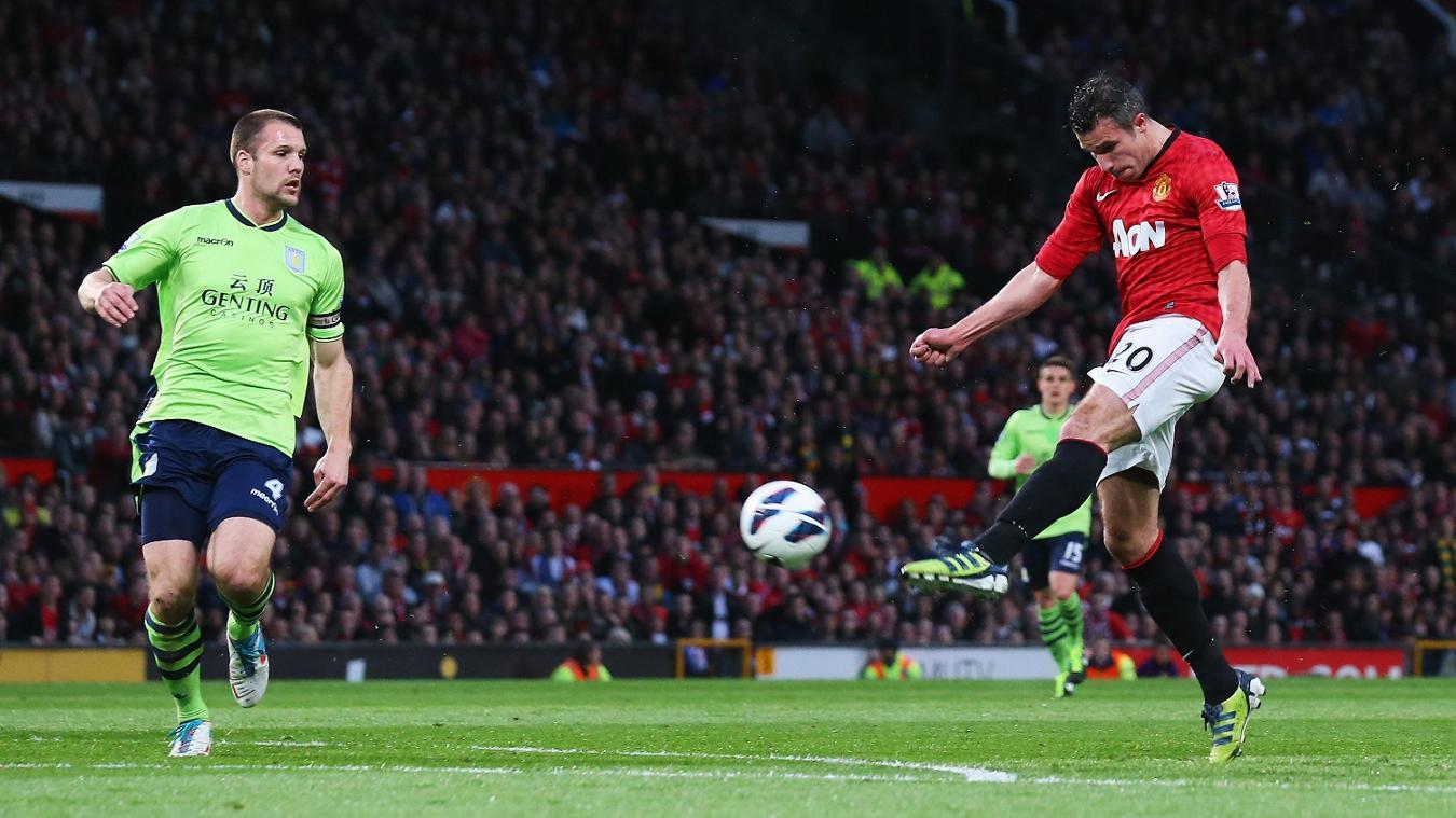 Robin van Persie, Manchester United goal in 2012/13