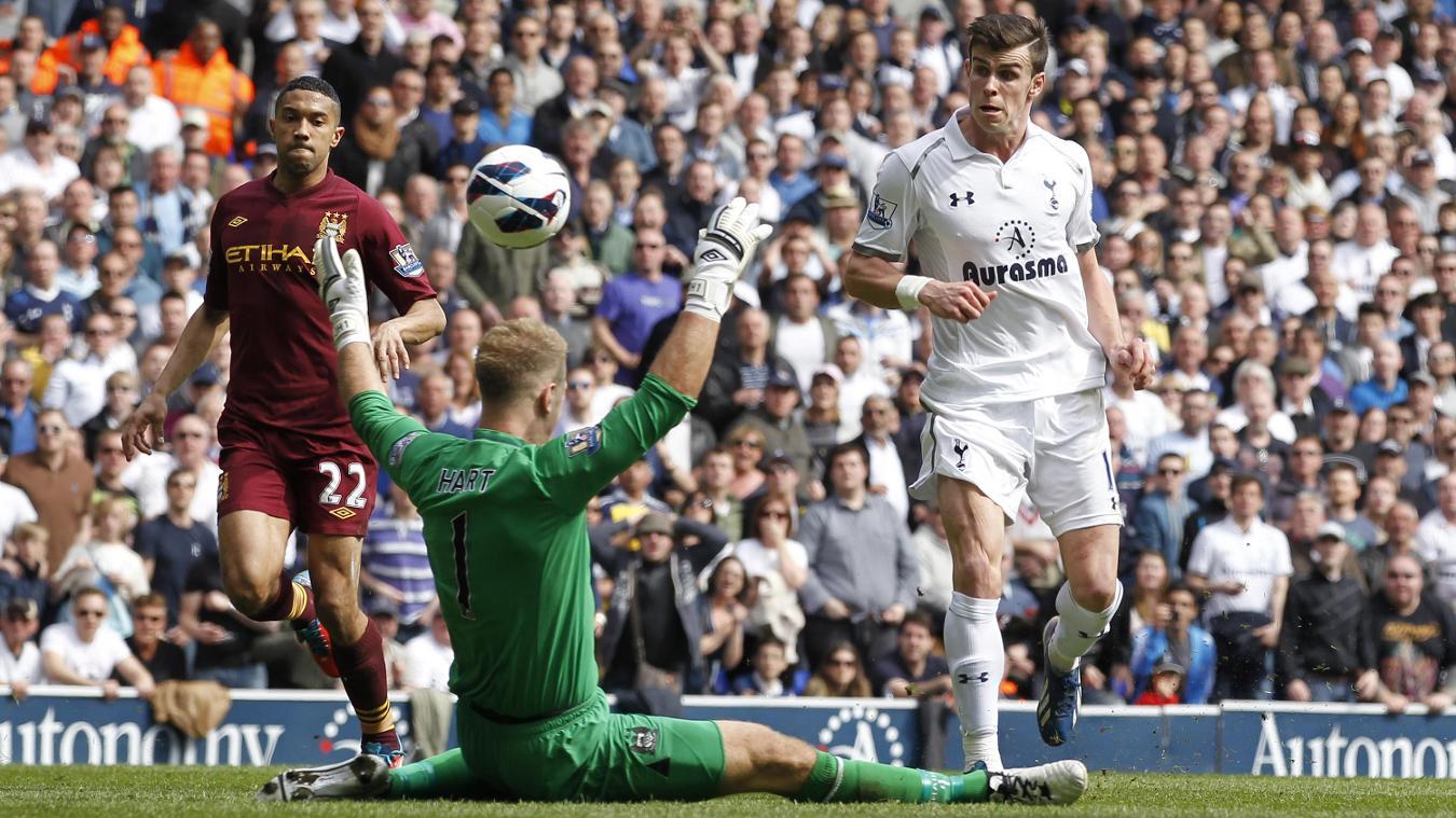 Gareth Bale, Spurs goal in 2012/13