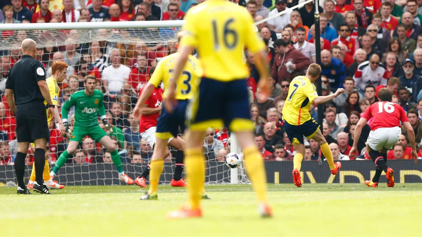 Seb Larsson, Sunderland goal in 2013/14