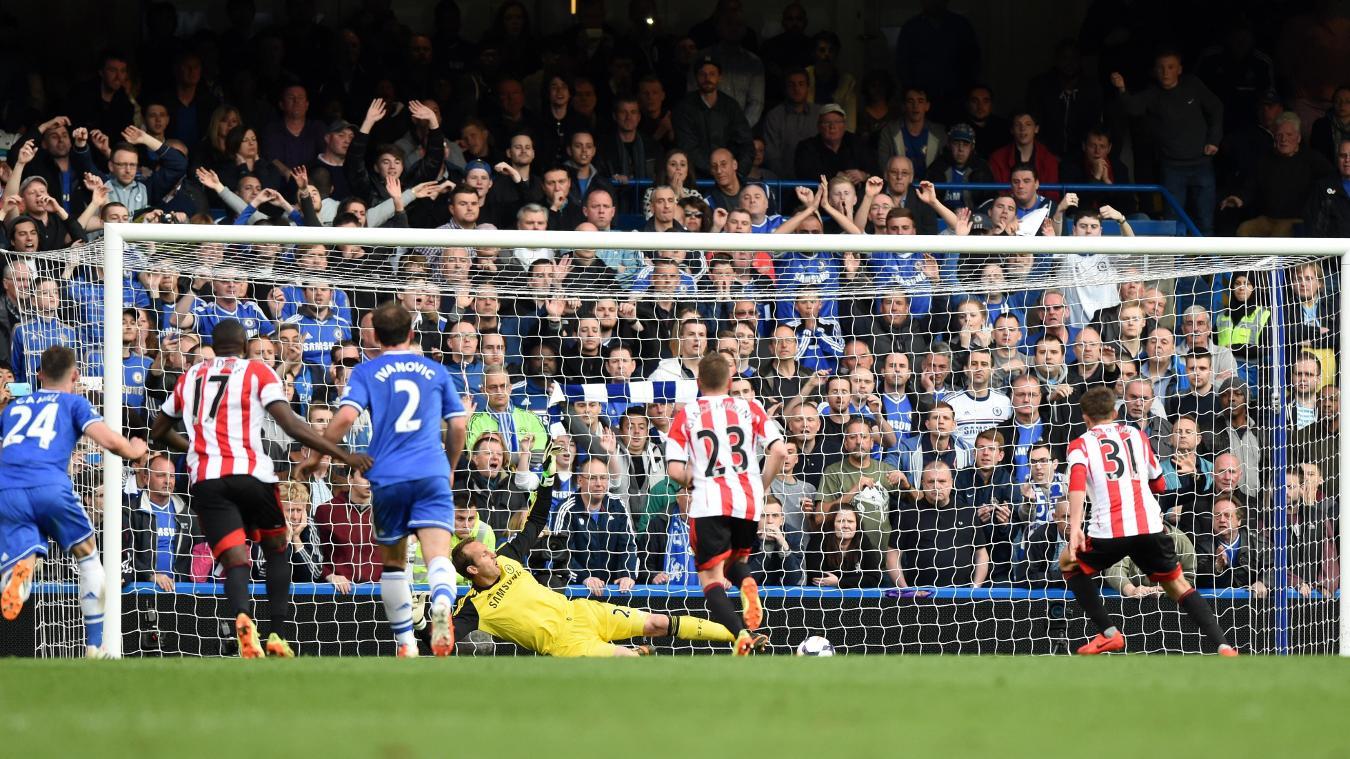 Fabio Borini, Sunderland goal in 2013/14