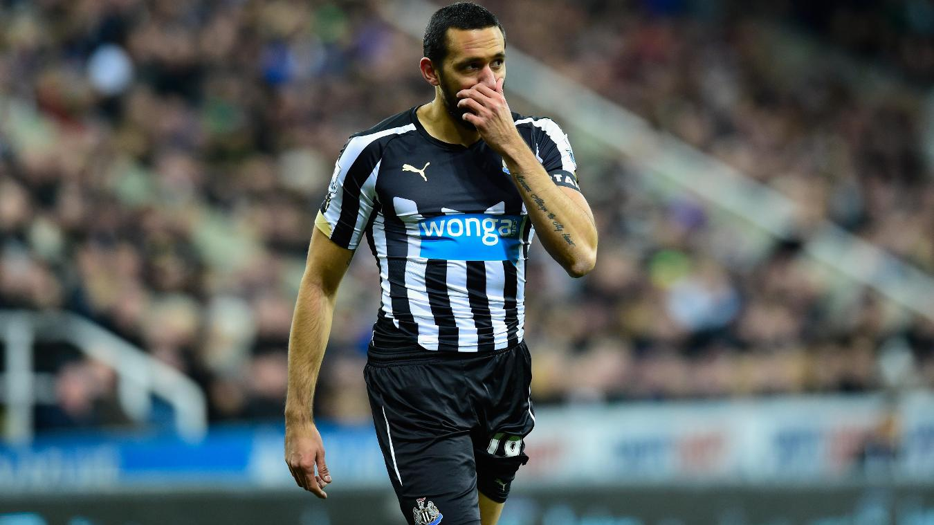 Jonas Gutierrez, Newcastle emotional in 2014/15