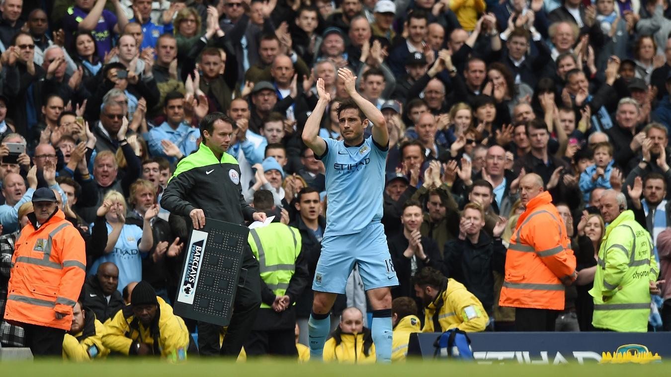 Frank Lampard, Man City in 2014/15