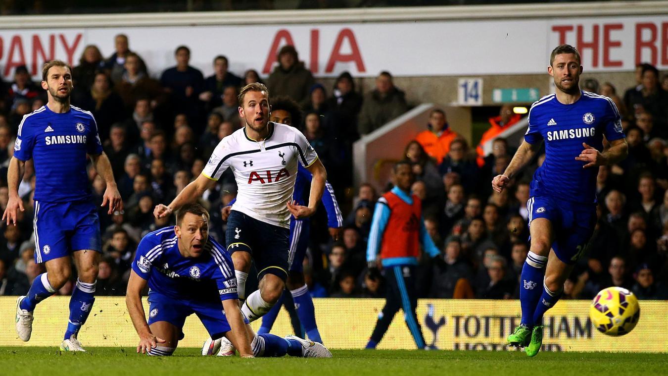 Harry Kane, Spurs goal in 2014/15