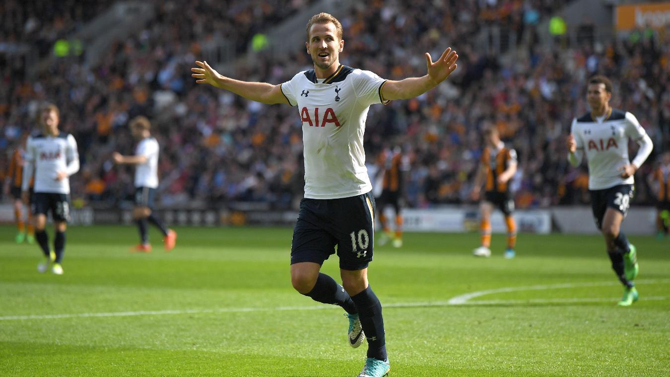 Harry Kane, Spurs celebration in 2016/17