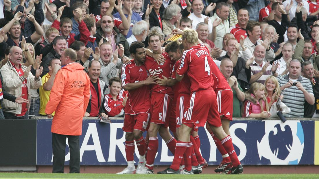 Liverpool 2-1 West Ham, 2005/06