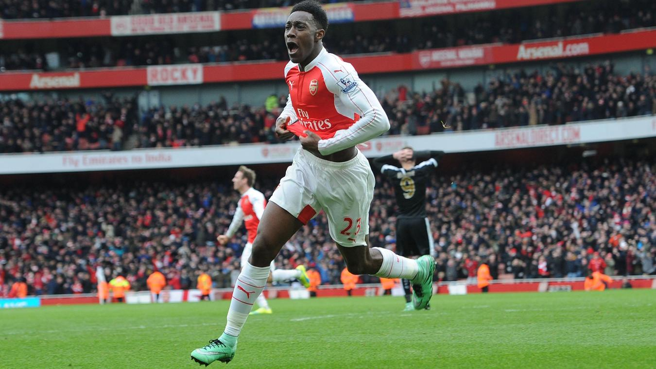 Danny Welbeck, Arsenal celebration in 2015/16