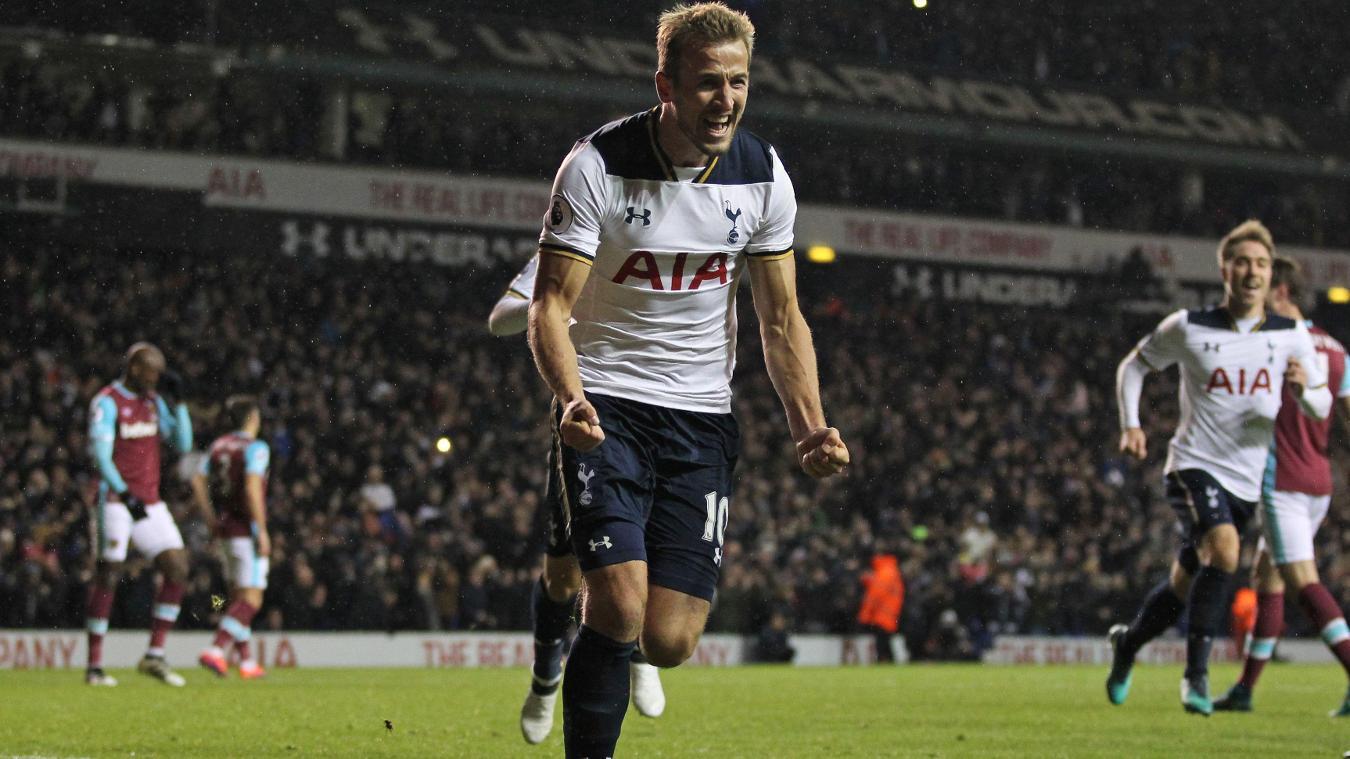 Harry Kane, Spurs celebration in 2015/16