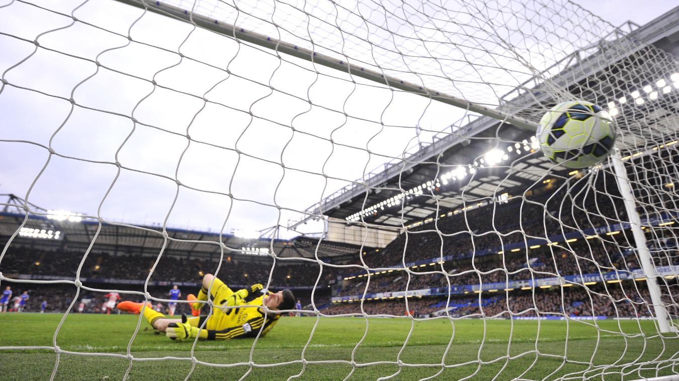 Charlie Adam, Stoke goal in 2014/15