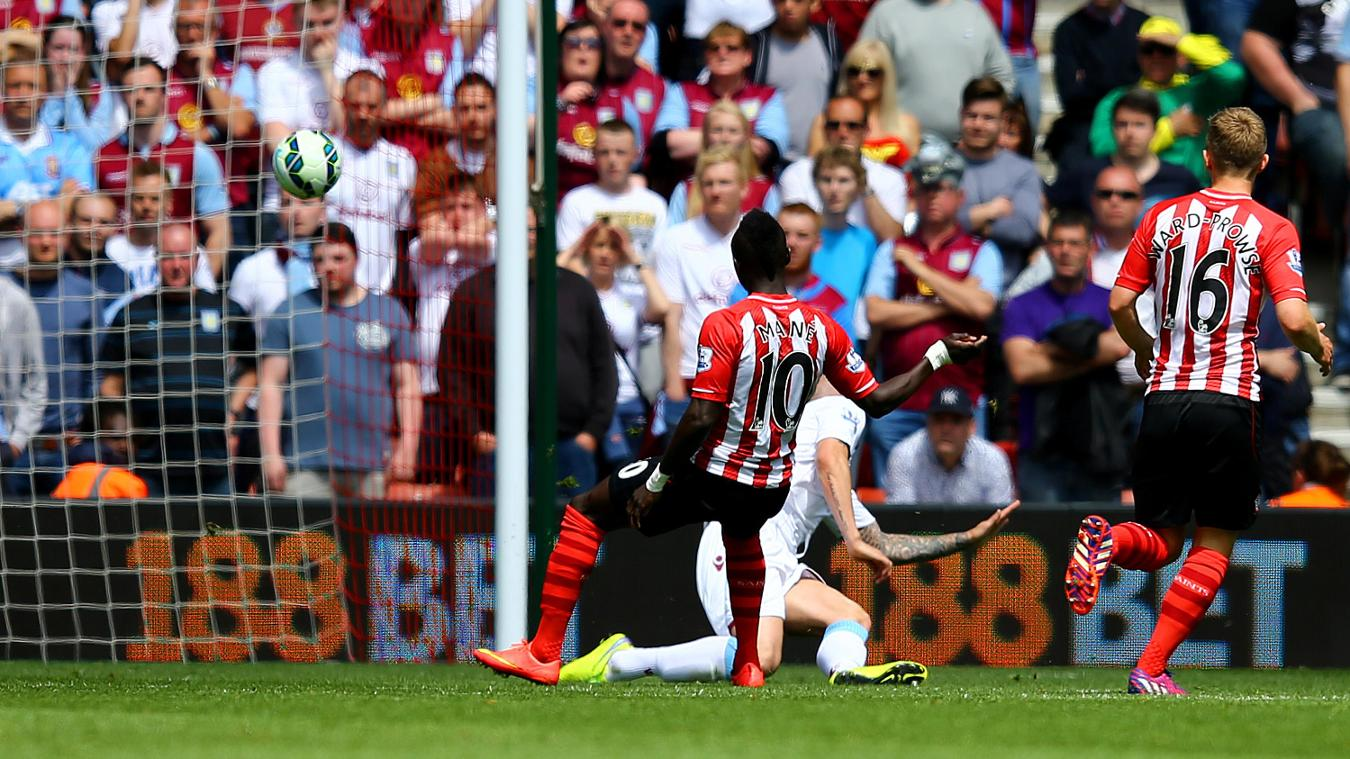 Sadio Mane, Southampton goal in 2014/15