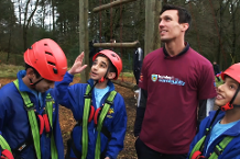 Burnley inspiring youngsters with the great outdoors