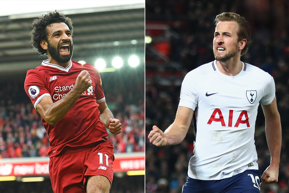 Mohamed Salah and Harry Kane