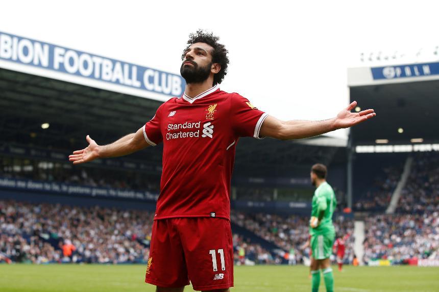 West Brom v Liverpool, Mohamed Salah