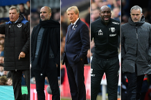 Contenders for Barclays Manager of the Month
