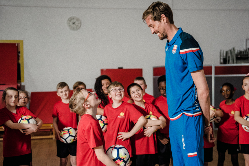 Peter Crouch, Best Lesson Ever, Premier League Primary Stars