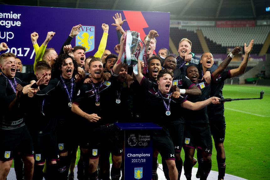 Aston Villa, PL Cup champions