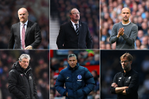 Barclays Manager of the Season nominees