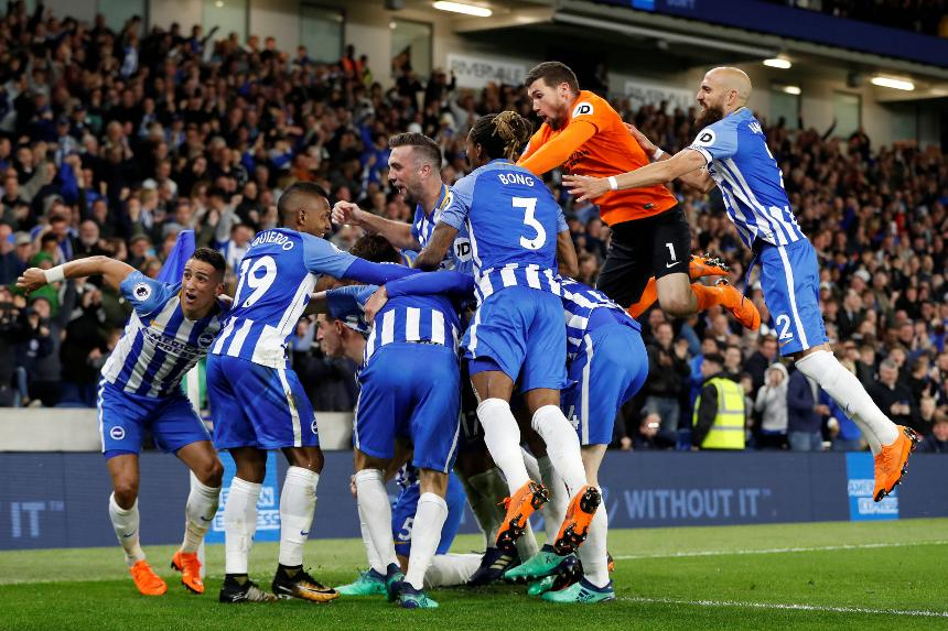 Brighton Secure Safety With Win Over Man Utd