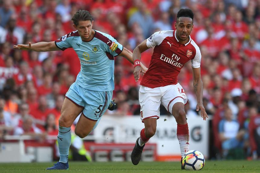 Arsenal v Burnley - Pierre-Emerick Aubameyang