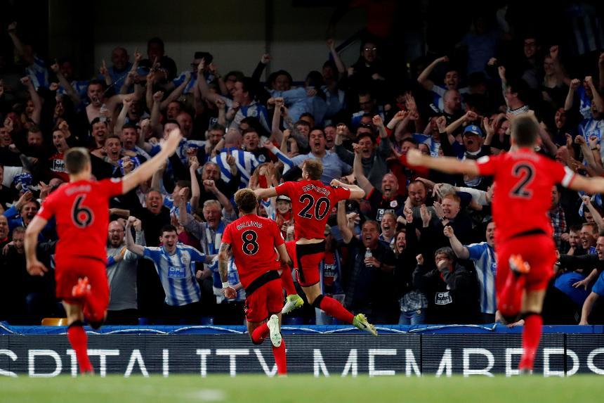 Chelsea v Huddersfield Town