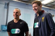 Gerrard and Osman's Merseyside Derby