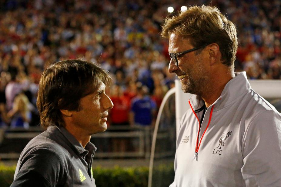 Klopp and Conte