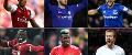 Composite photo of players for Arsenal, Chelsea, Everton, Liverpool, Man Utd and Spurs