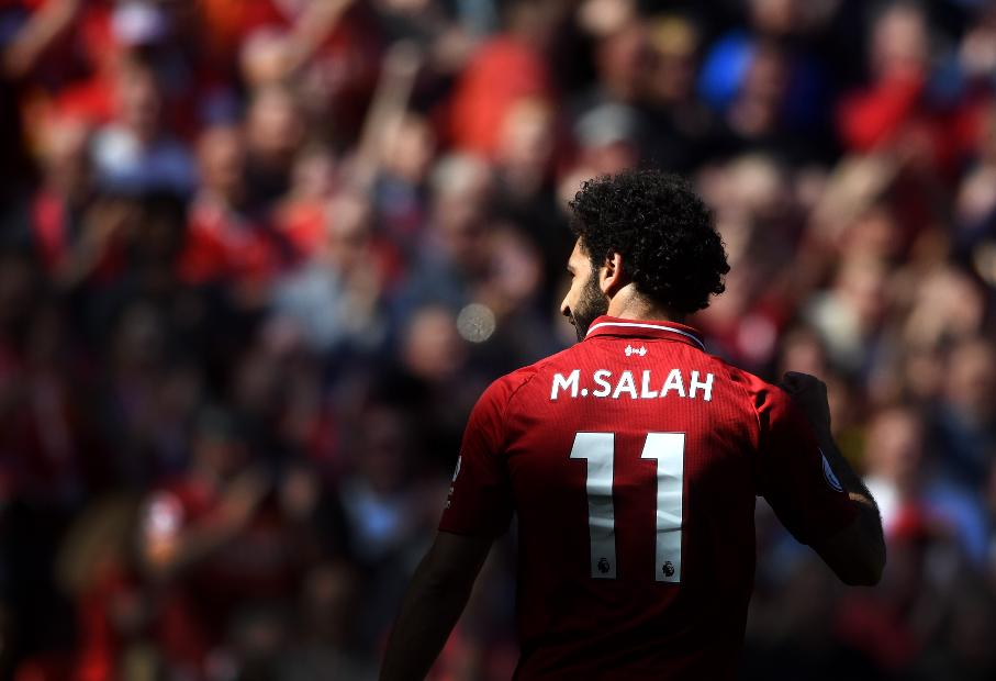 Liverpool v Brighton and Hove Albion - Mo Salah