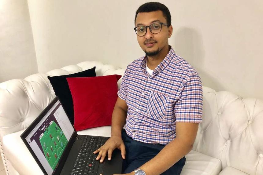 FPL 2017/18 winner Yusuf Sheikh