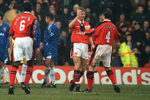Iconic Moment: Pearce scores and manages win