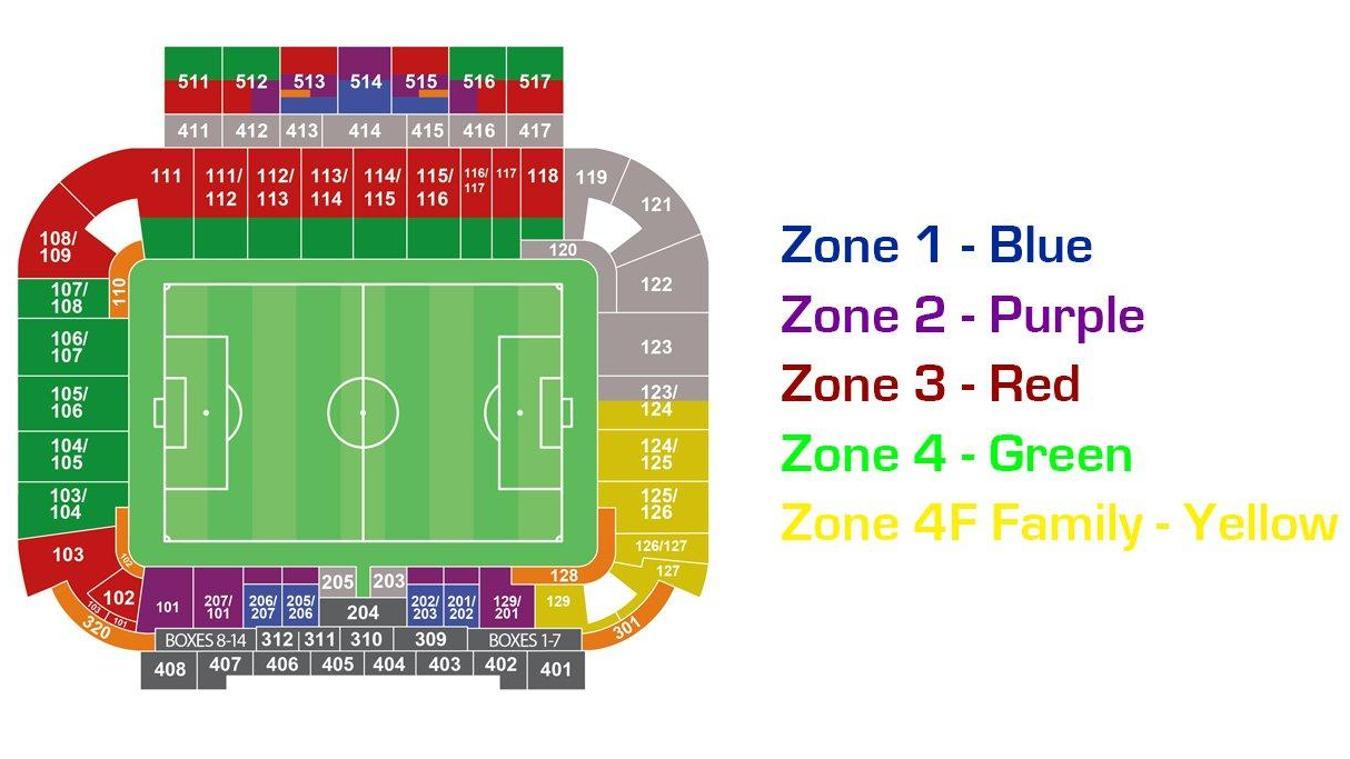 Cardiff City Stadium Map