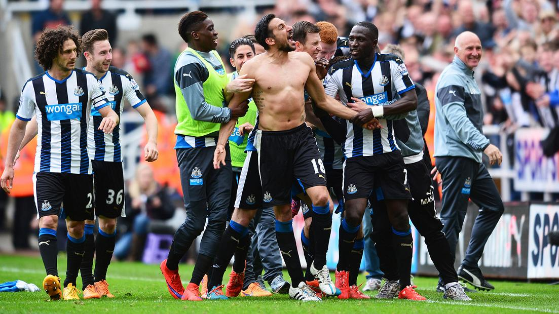 Newcastle 2-0 West Ham, 2014/15