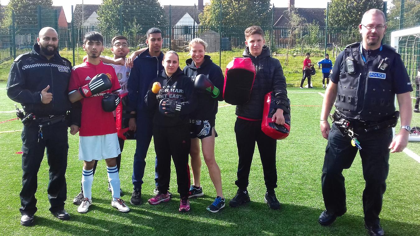 Leicester, PL Kicks, Rob Evans