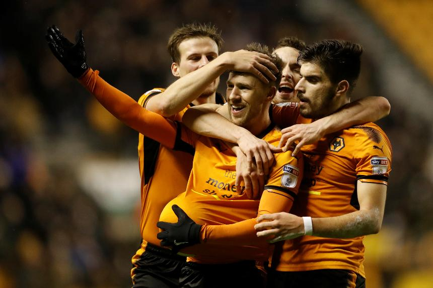Barry Douglas and Ruben Neves, Wolves