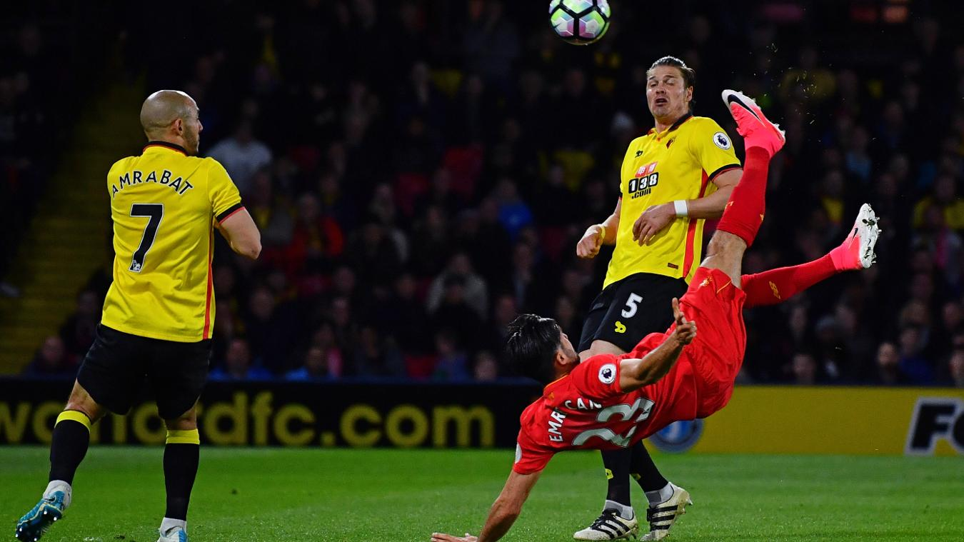 Emre Can's Carling Goal of the Season