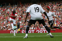 Goal of the day: Diaby screamer for Arsenal