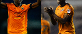 Benik Afobe and Willy Boly, Wolves
